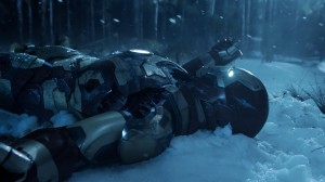 Iron Man 3 Snow